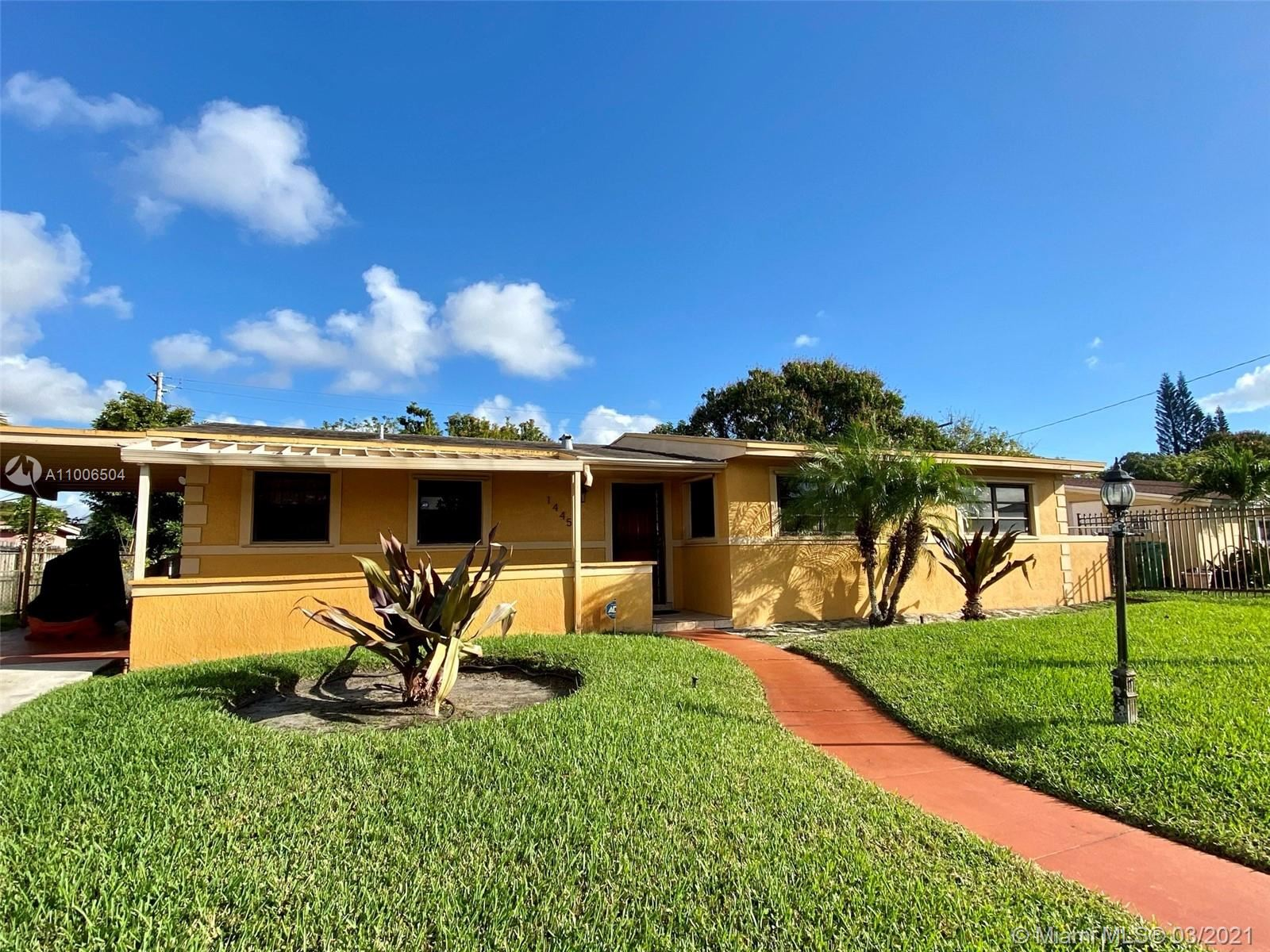 1445 NW 196th Ter, Miami Gardens, FL 33169 - #: A11006504
