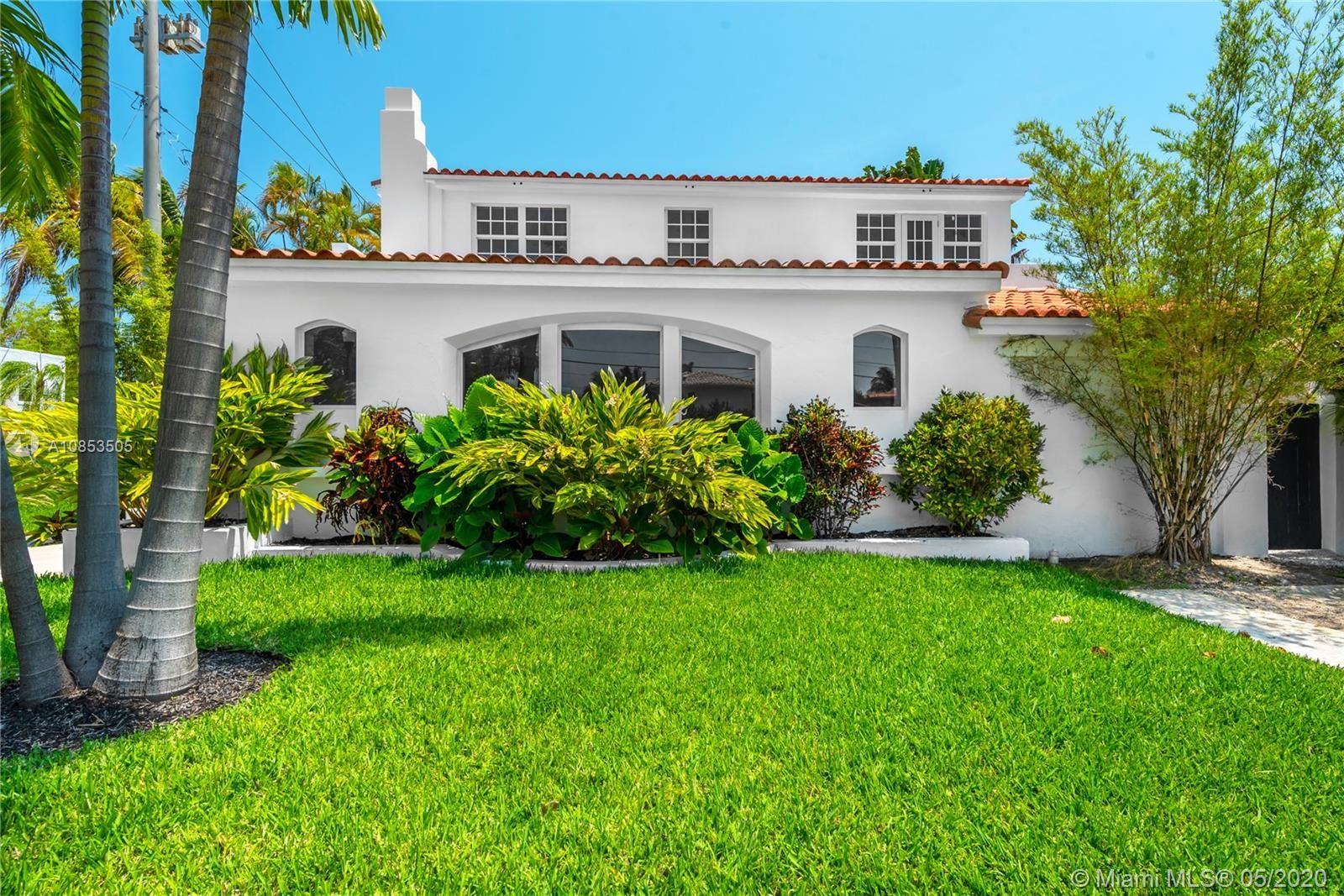 4491 Prairie Ave, Miami Beach, FL 33140 - #: A10853505