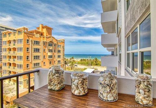 Photo of 405 N Ocean Blvd #607, Pompano Beach, FL 33062 (MLS # A11036506)