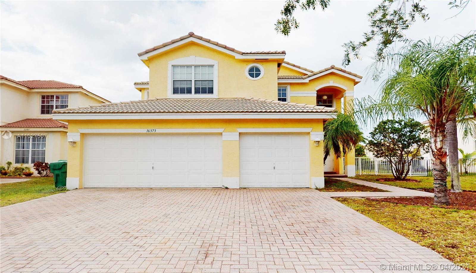 16373 SW 30th St, Miramar, FL 33027 - #: A11027507