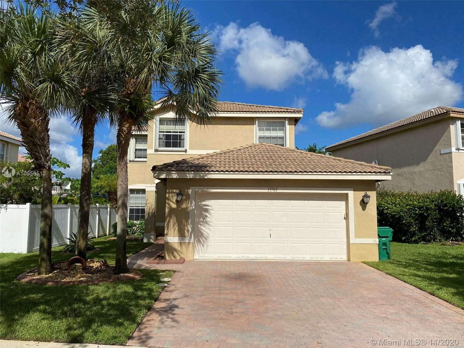 Photo of 15763 SW 21st St, Miramar, FL 33027 (MLS # A10958513)