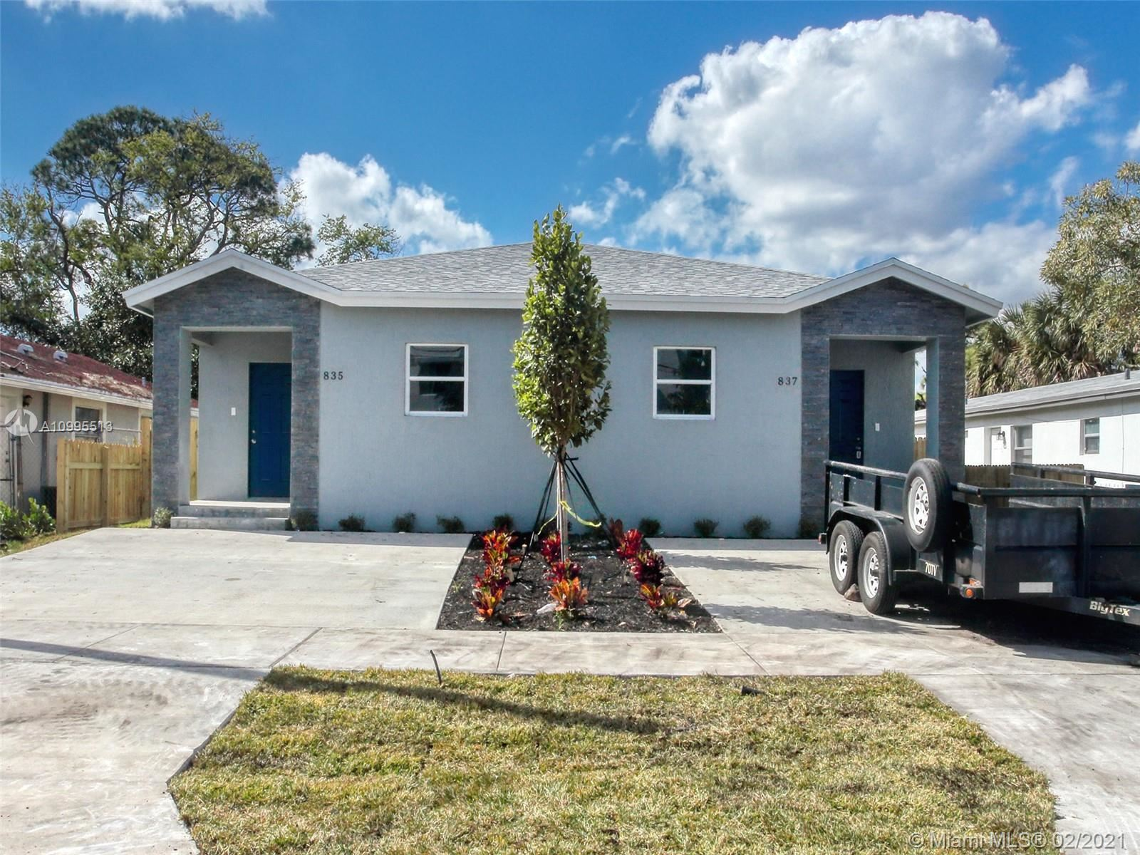 837 NW 14th Way, Fort Lauderdale, FL 33311 - #: A10995513