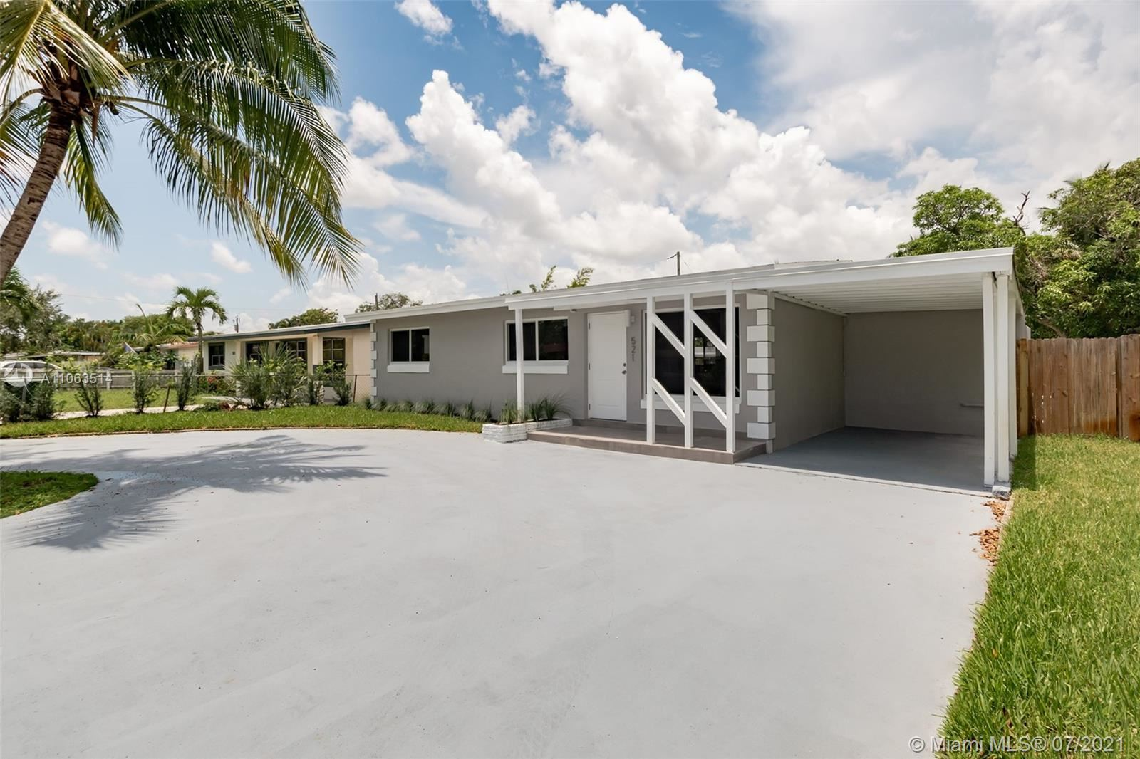 521 SW 22nd Ter, Fort Lauderdale, FL 33312 - #: A11063514