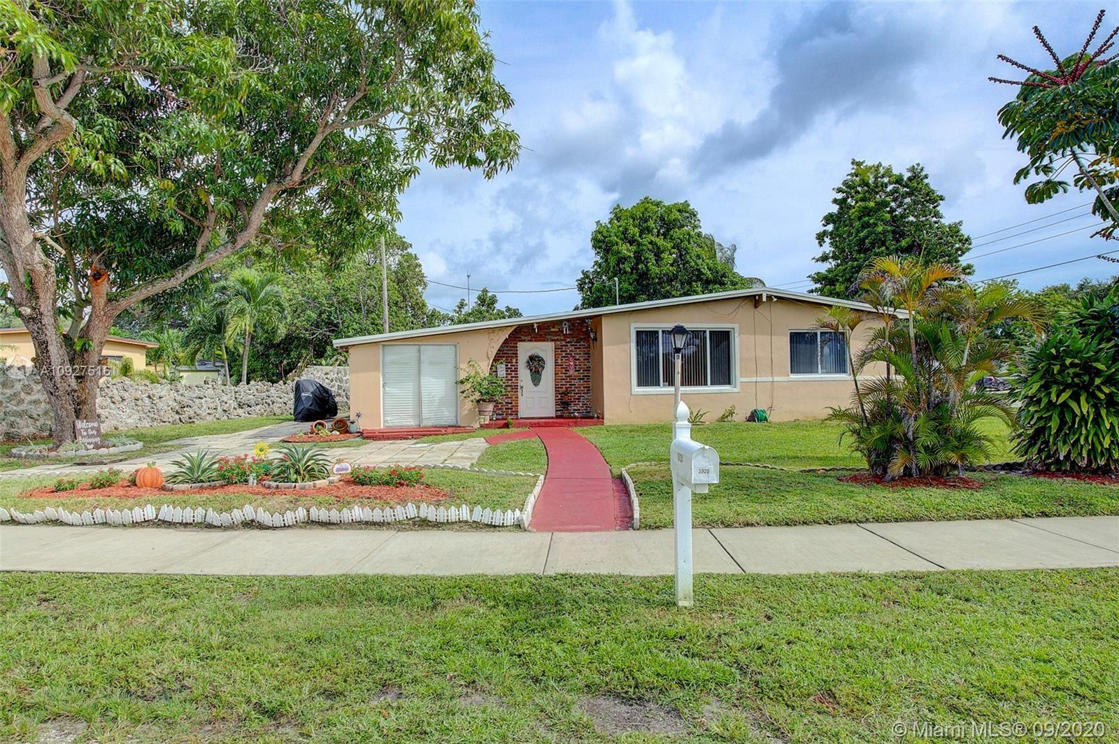 3920 SW 32nd Ave, West Park, FL 33023 - #: A10927516