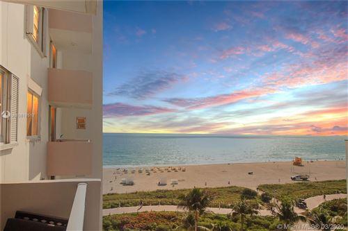 Photo of 345 Ocean Dr #812, Miami Beach, FL 33139 (MLS # A10819517)