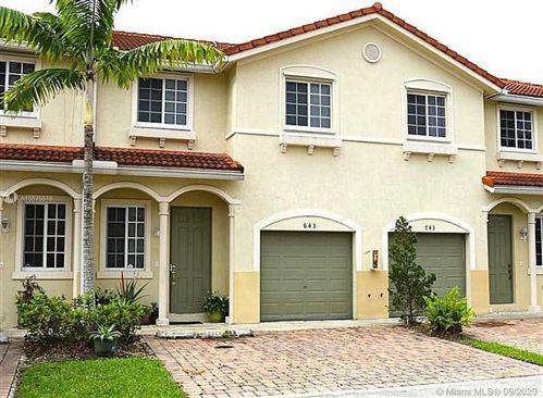 Foto de inmueble con direccion 21013 NW 14TH PL #743 Miami Gardens FL 33169 con MLS A10875518