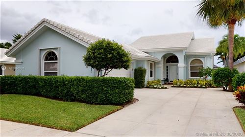 Photo of Listing MLS a10860520 in 1460 Wilderness Rd West Palm Beach FL 33409