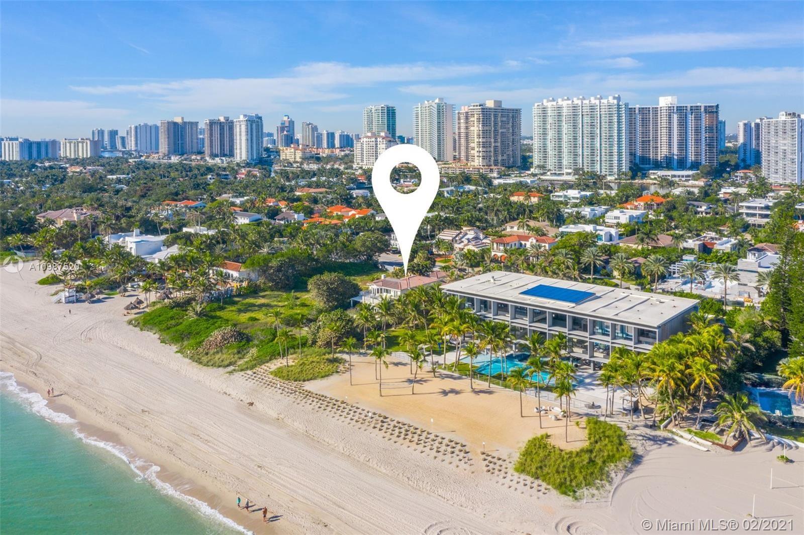 Photo of 407 Ocean Blvd, Golden Beach, FL 33160 (MLS # A10987520)