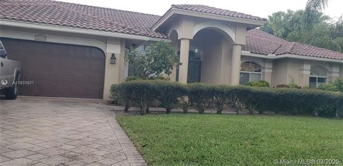 Photo of 10930 NW 6 St, Plantation, FL 33324 (MLS # A10833521)