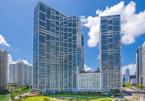 Photo of 485 Brickell Ave #3707, Miami, FL 33131 (MLS # A10981521)