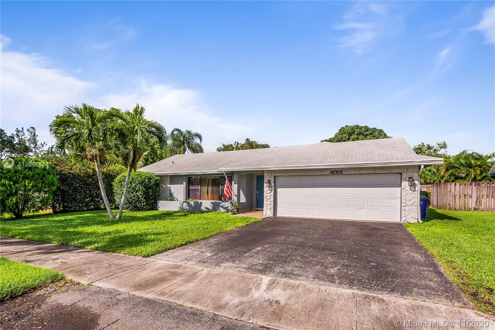 Photo of 4918 SW 11th Pl, Margate, FL 33068 (MLS # A10960524)