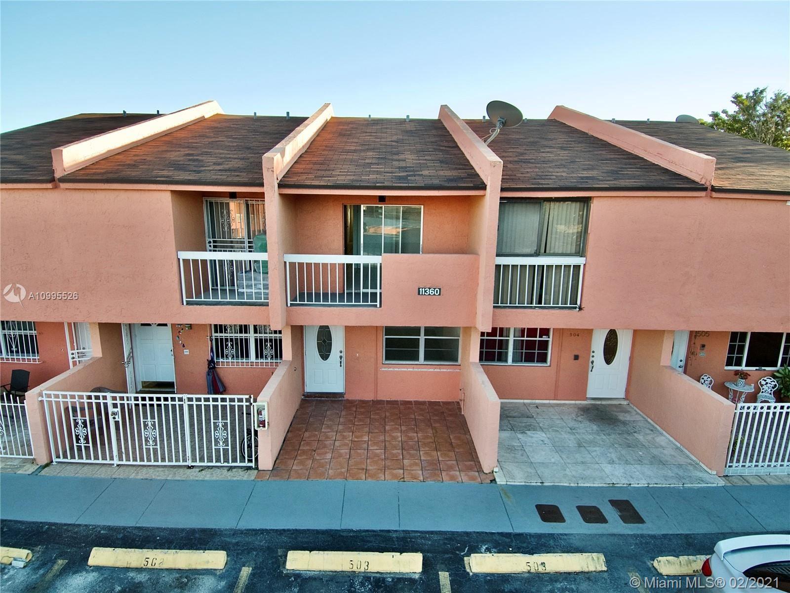 11360 SW 1st St #503, Sweetwater, FL 33174 - #: A10995526