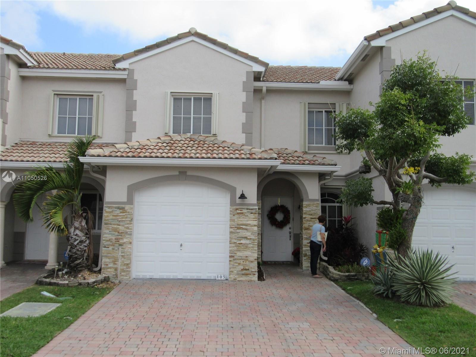 8351 SW 124th Ave #105, Miami, FL 33183 - #: A11050526