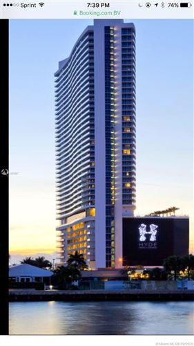 Photo of 4111 S Ocean Dr #3105, Hollywood, FL 33019 (MLS # A10934527)
