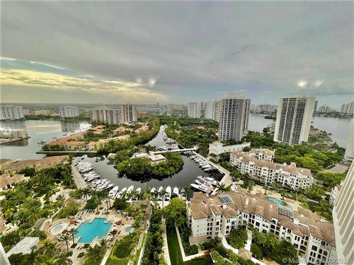 Photo of 2000 Island Blvd #2805, Aventura, FL 33160 (MLS # A11078528)