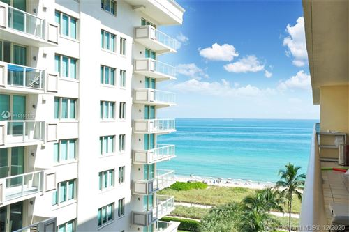 Photo of 9455 Collins Ave #901, Surfside, FL 33154 (MLS # A10555529)
