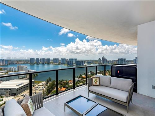 Photo of 18555 Collins Ave #2503, Sunny Isles Beach, FL 33160 (MLS # A11114529)