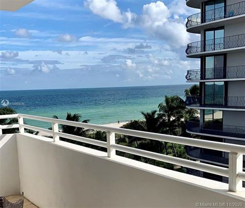 Photo of 8911 Collins Ave #503, Surfside, FL 33154 (MLS # A10960530)