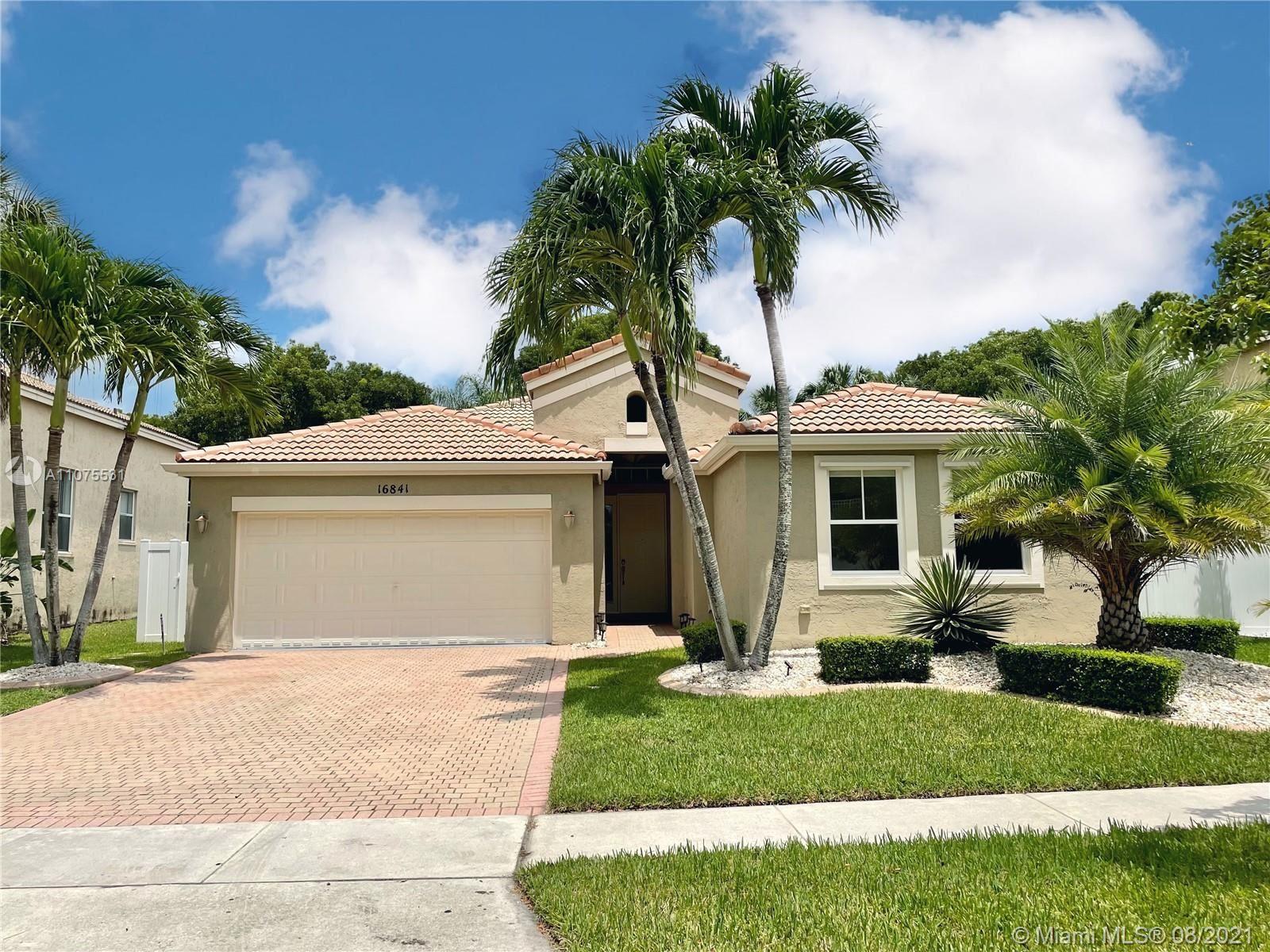 Photo of 16841 SW 49th Ct, Miramar, FL 33027 (MLS # A11075531)