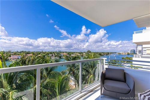 Photo of 5600 Collins Ave #6M, Miami Beach, FL 33140 (MLS # A10758532)