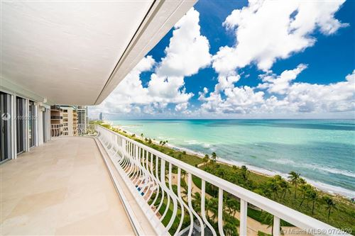 Photo of 10155 Collins Ave #1202, Bal Harbour, FL 33154 (MLS # A10900532)
