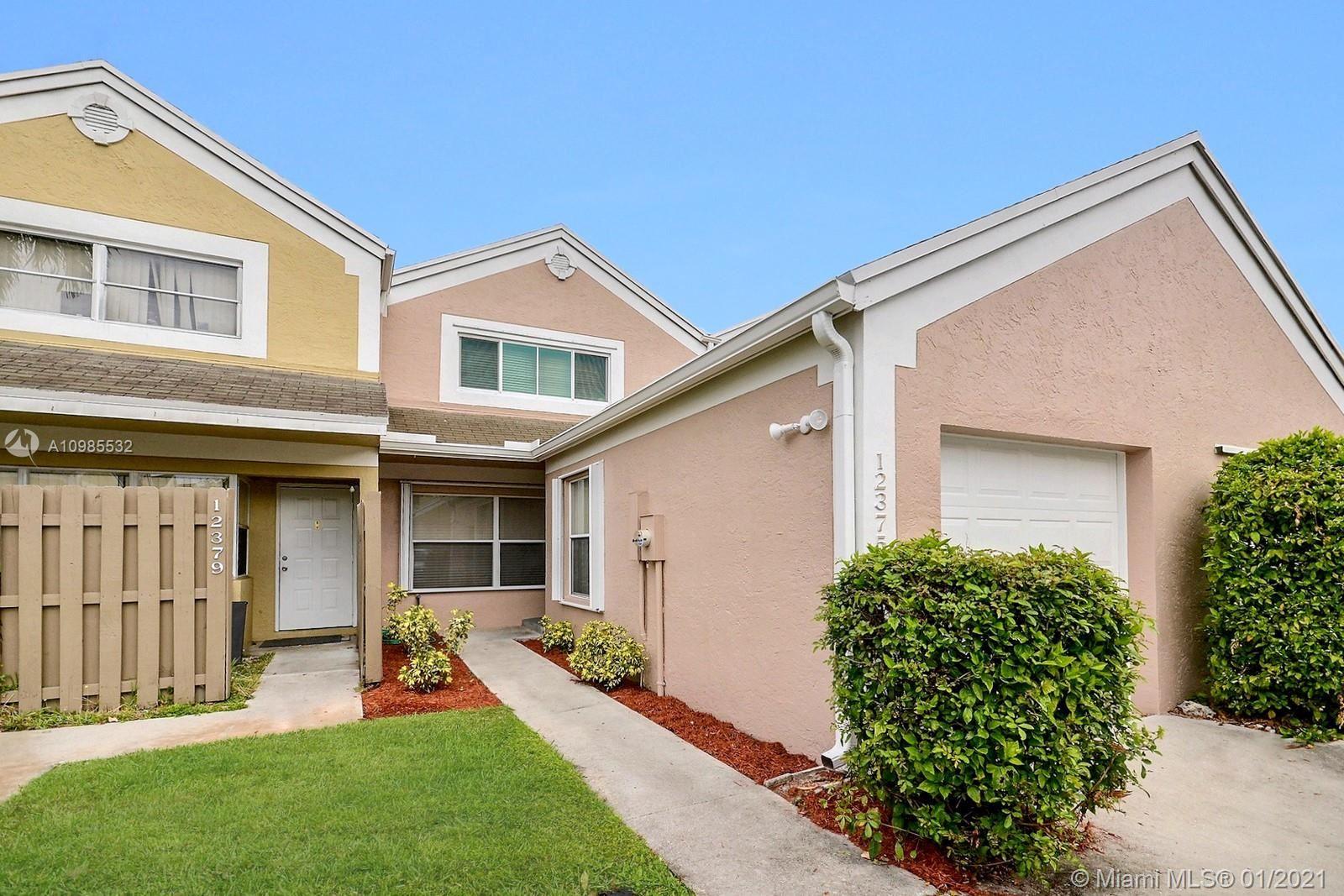 12375 NW 15th St, Pembroke Pines, FL 33026 - #: A10985532