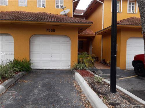 Photo of 7559 NW 175th St #7559, Hialeah, FL 33015 (MLS # A10895533)