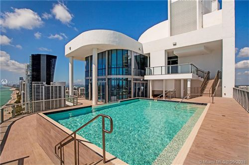 Photo of 17475 Collins Ave #PH-3201, Sunny Isles Beach, FL 33160 (MLS # A11040535)