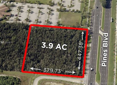 Photo of 19000 Pines Blvd, Pembroke Pines, FL 33029 (MLS # A10776537)