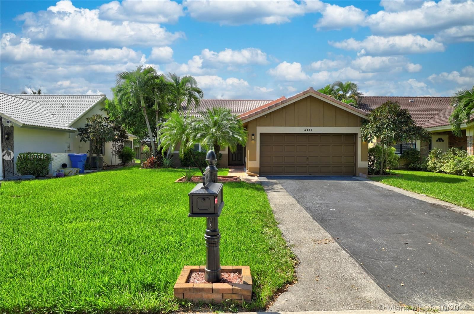 2444 NW 94th Ave, Coral Springs, FL 33065 - #: A11107542