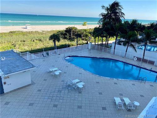 Foto de inmueble con direccion 5825 Collins Ave #4G Miami Beach FL 33140 con MLS A10943544