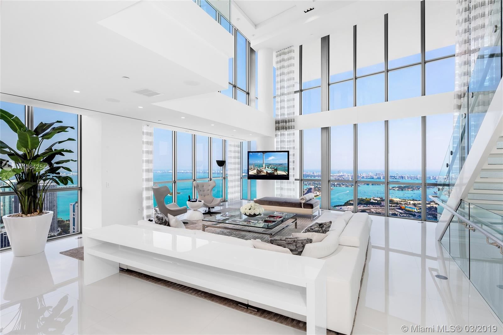 Photo 1 of Listing MLS a10642546 in 1100 Biscayne Blvd #6401 Miami FL 33132