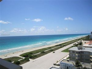 Photo of Listing MLS a10564547 in 9195 Collins Ave #PH8 Surfside FL 33154