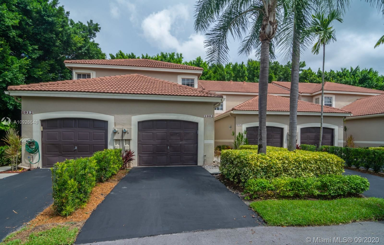 1002 Sevilla Cir #1002, Weston, FL 33326 - #: A10926548