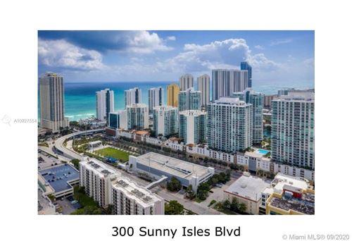 Photo of 300 sunny isles blvd #1201, Sunny Isles Beach, FL 33160 (MLS # A10927554)