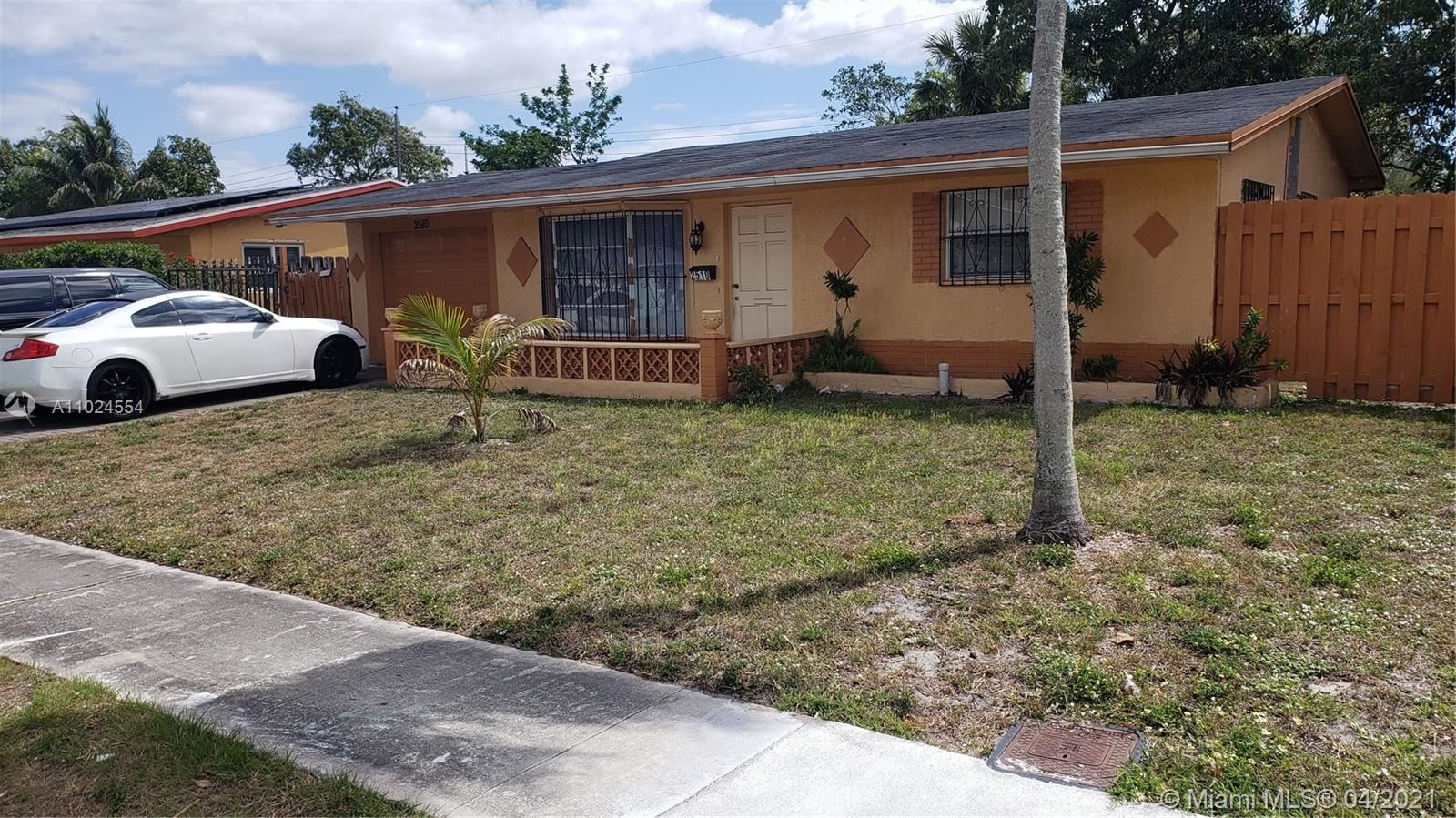 Photo of 2510 NW 47th Ave, Lauderhill, FL 33313 (MLS # A11024554)