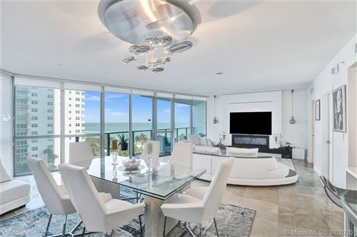 Photo of 3101 S Ocean Dr #605, Hollywood, FL 33019 (MLS # A10805556)