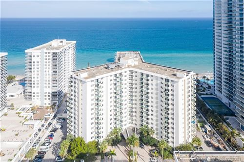 Photo of 3001 S Ocean Dr #505, Hollywood, FL 33019 (MLS # A11007556)