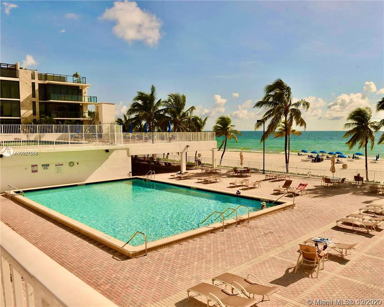 Photo of 2301 S Ocean Dr #1104, Hollywood, FL 33019 (MLS # A10927558)