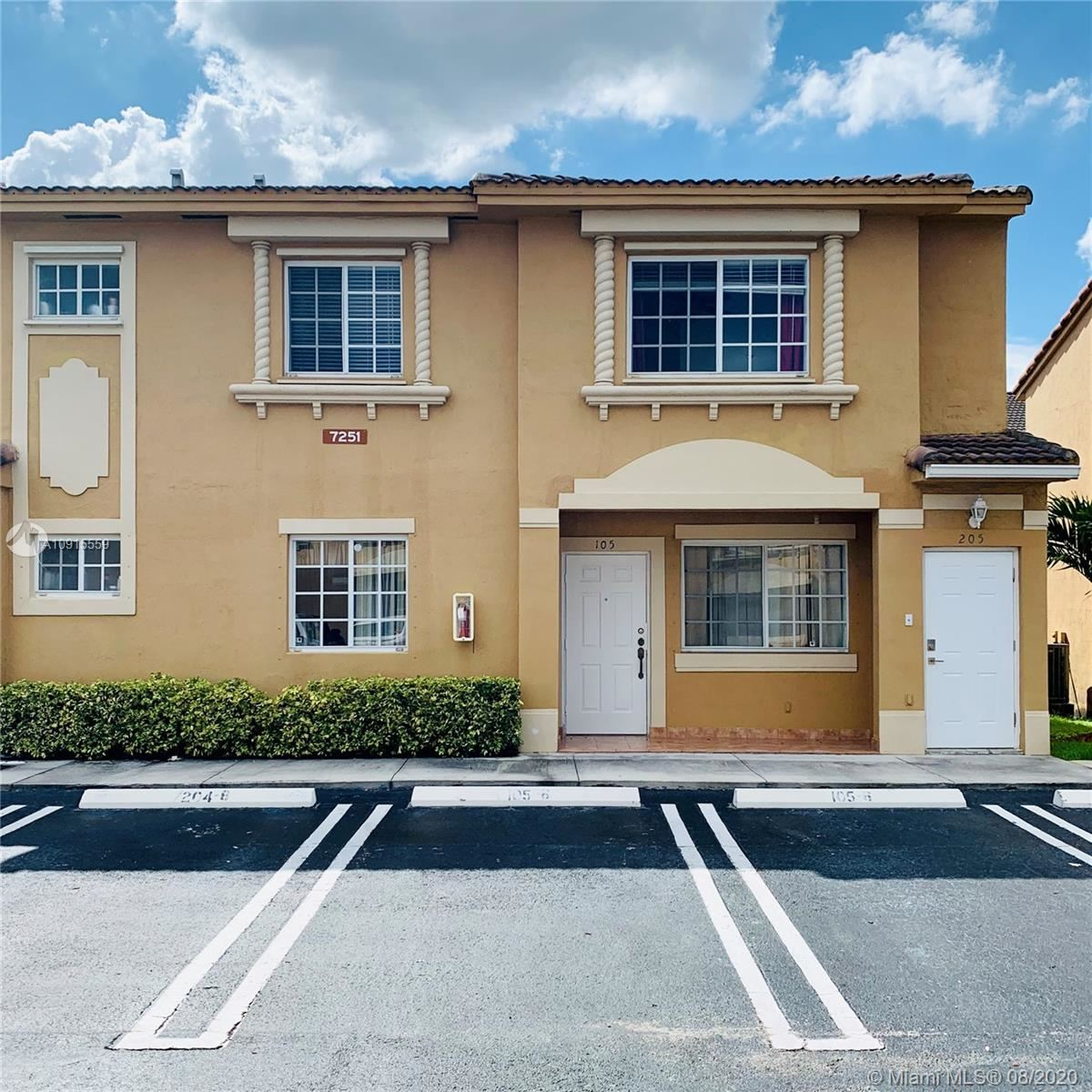7251 NW 174th Ter #205, Hialeah, FL 33015 - #: A10915559