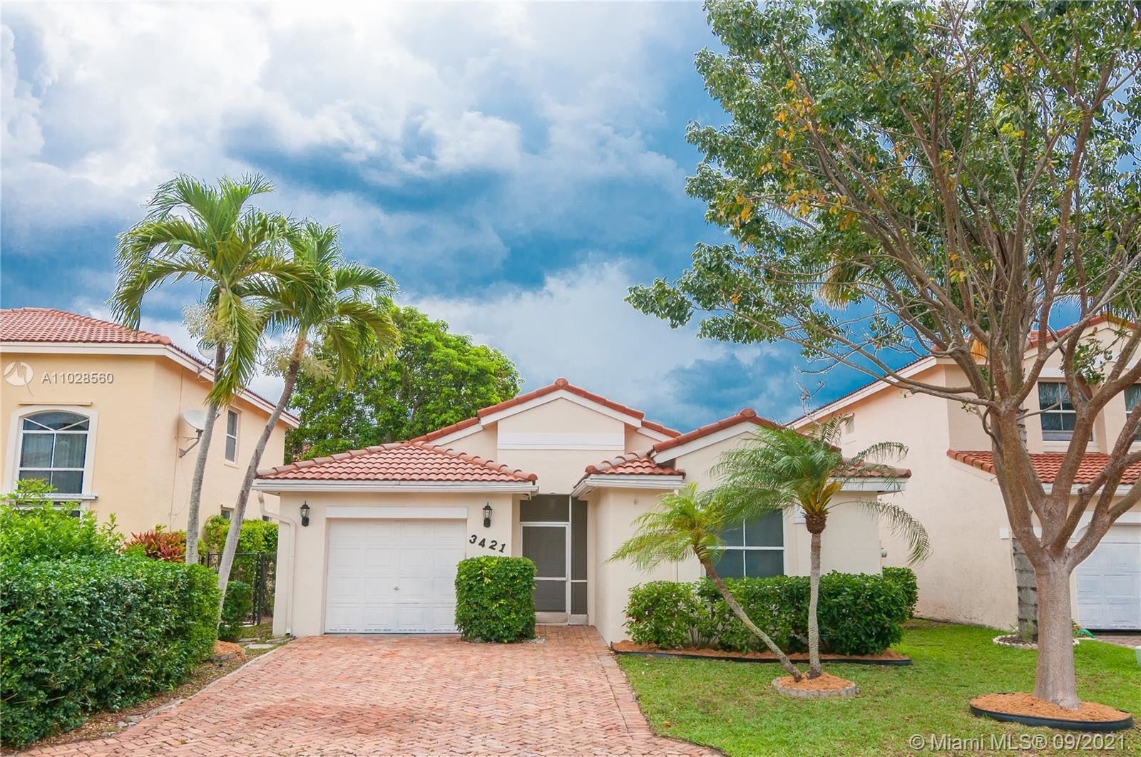 3421 NW 110th Way, Coral Springs, FL 33065 - #: A11028560