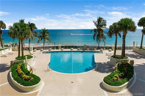 Photo of 4240 Galt Ocean Dr #1603, Fort Lauderdale, FL 33308 (MLS # A10943561)