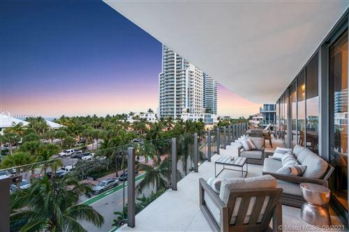 Photo of 1 Collins Ave #407, Miami Beach, FL 33139 (MLS # A11073561)