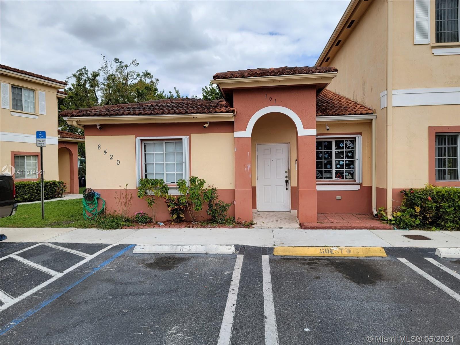 8420 SW 150th Ave #101, Miami, FL 33193 - #: A11014561