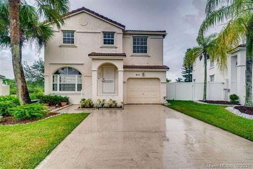 Photo of 651 NW 151st Avenue, Pembroke Pines, FL 33028 (MLS # A11100563)