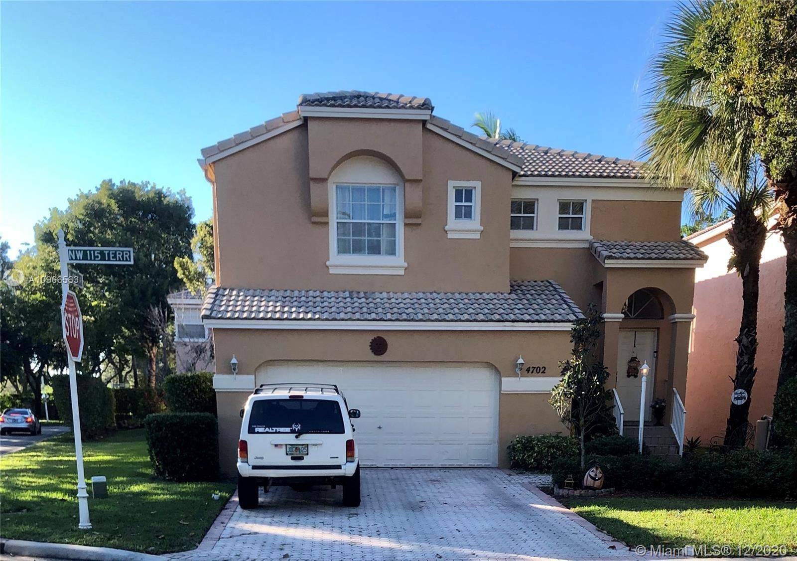 4702 NW 115th Ter, Coral Springs, FL 33076 - #: A10966563