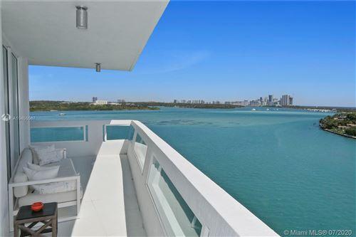 Photo of 10261 E Bay Harbor Dr #1001, Bay Harbor Islands, FL 33154 (MLS # A10455567)
