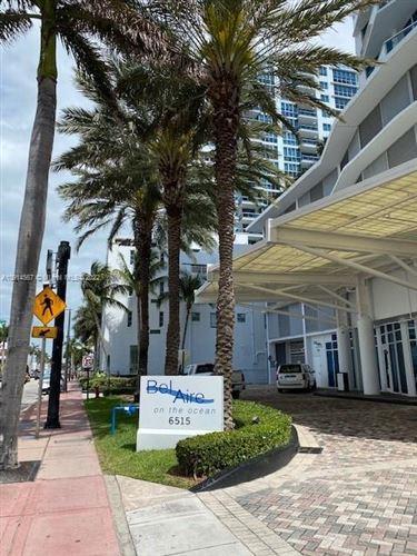 Photo of 6515 Collins Ave #808, Miami Beach, FL 33141 (MLS # A10914567)