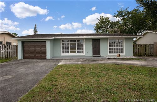Photo of Listing MLS a10818568 in 8400 27th Pl Sunrise FL 33322