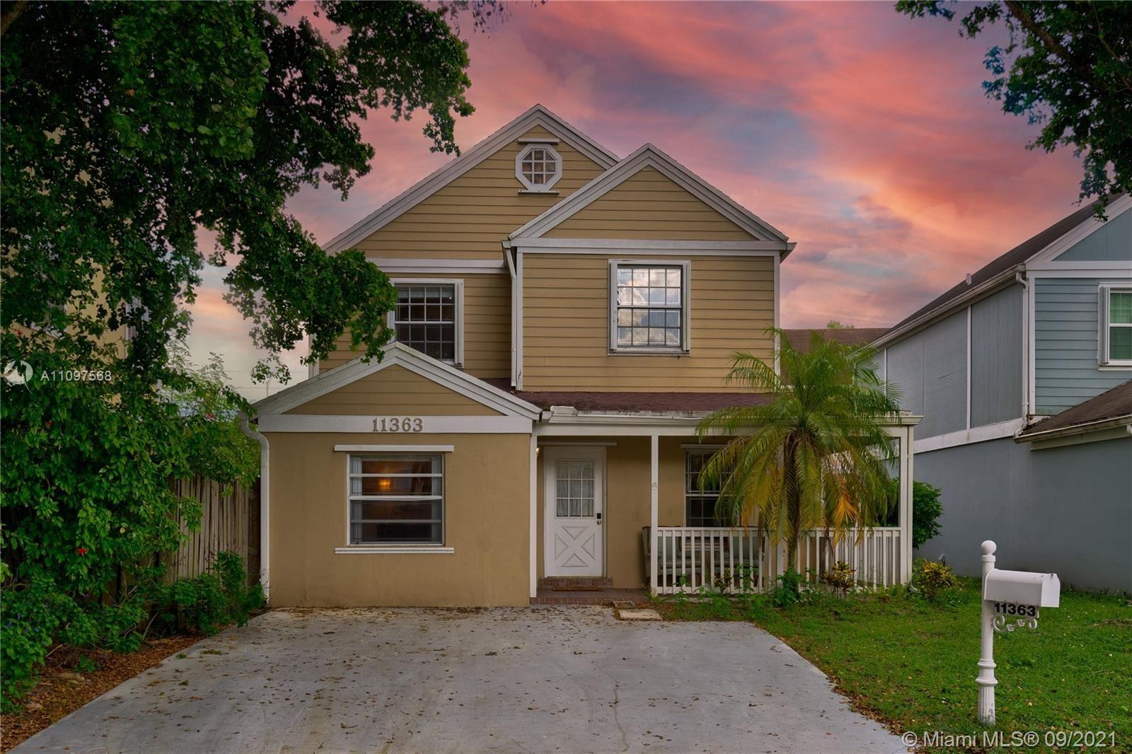 11363 SW 117th Ct, Miami, FL 33186 - #: A11097568